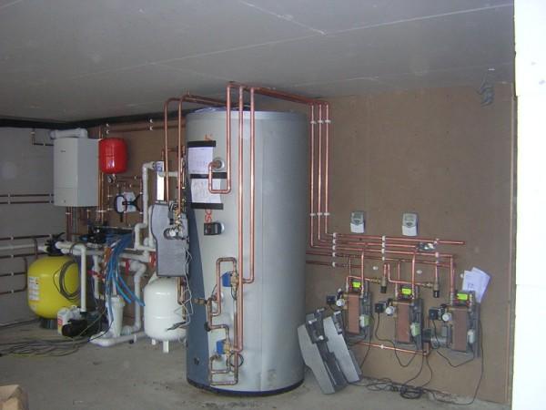 Solar Thermal Buffer Store