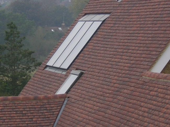 Solfex In-Roof Solar Collectors
