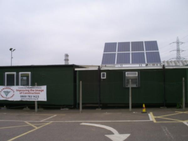 FitzPatrick Portacabin PV System