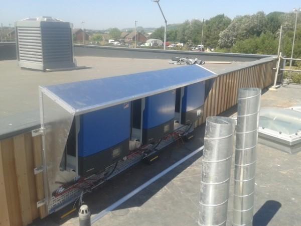 Folkestone Academy Bauder Roofing System