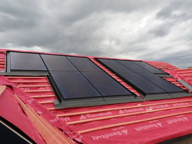 PV In-roof system