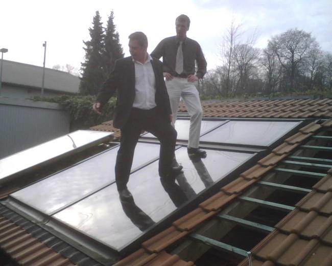 Westfa Toughend Glass Solar Panel