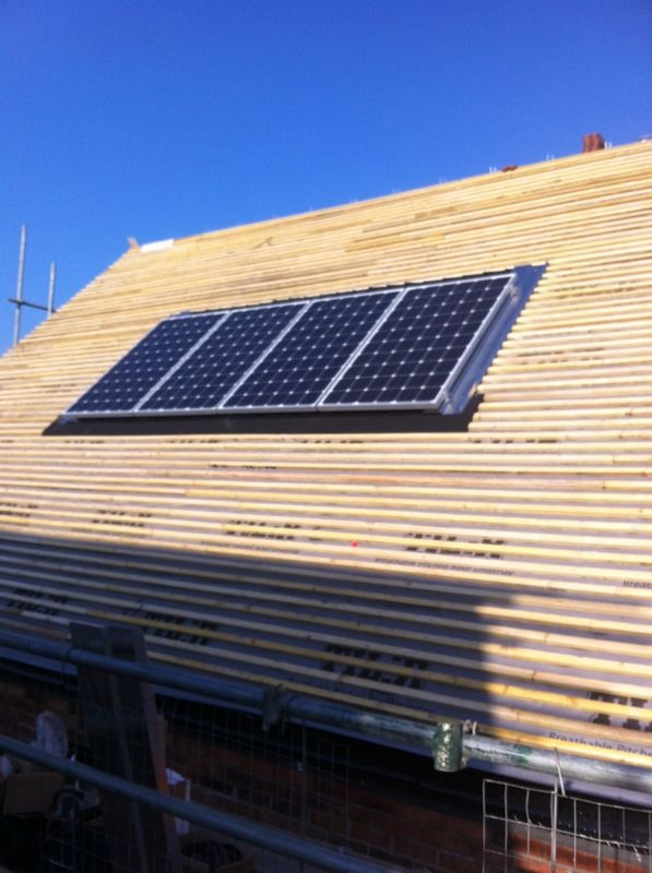 In-Roof PV System