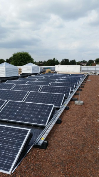 Pinkwell School PV Consol Boxes