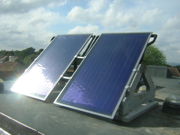 Crystal Palace Solar Thermal Collectors